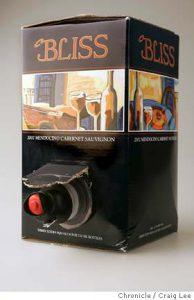 Bliss Wine Bag-in-Box